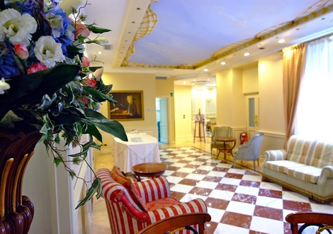 hall Hotel Andreola Central Milan